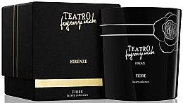 Parfumuri și produse cosmetice Lumânare aromată - Teatro Fragranze Uniche Luxury Collection Fiore Scented Candle