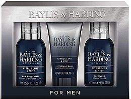 Set - Baylis & Harding Citrus Lime & Mint (b/wash/100ml + a/s/balm/50ml + wash/100ml) — Imagine N1
