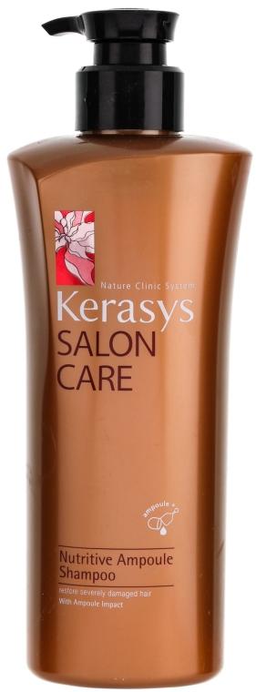 Șampon nutritiv - KeraSys Salon Care Nutritive Ampoule Shampoo — Imagine N1