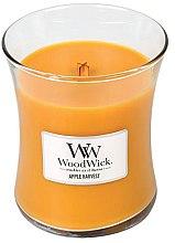 Parfumuri și produse cosmetice Lumânare aromată în suport de sticlă - WoodWick Apple Harvest Candle