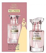 Parfumuri și produse cosmetice Naomi Campbell Pret a Porter Silk Collection - Apă de toaletă (mini)