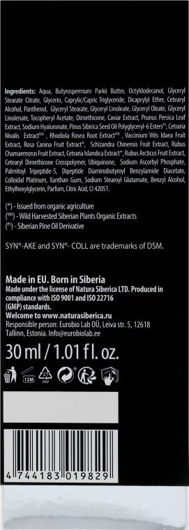 Cremă de noapte cu efect anti-rid - Natura Siberica Caviar Platinum — Imagine N3