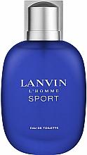 Parfumuri și produse cosmetice Lanvin L'Homme Sport - Apă de toaletă