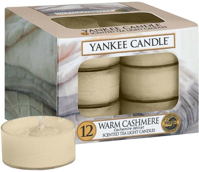 Lumânări pastile - Yankee Candle Scented Tea Light Warm Cashmere — Imagine N1