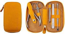 """Parfumuri și produse cosmetice Set de manichiură """"Basic Eco"""", MS-01E, 5 piese - Staleks Manicure Set"""