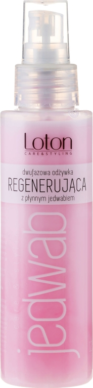 Balsam de păr - Loton Two-Phase Conditioner Silk Regenerating Hair — Imagine N1