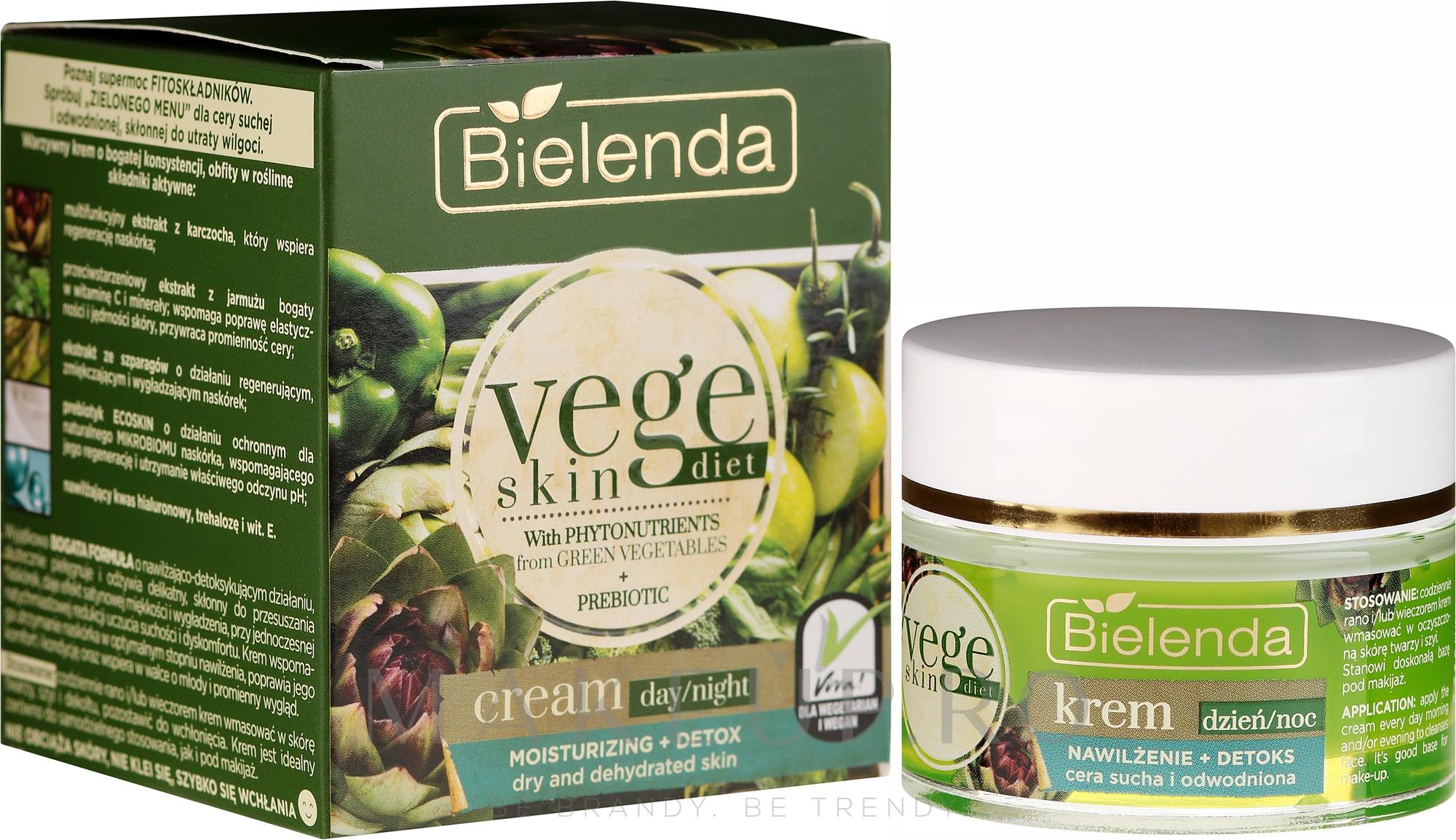 Cremă pentru ten sensibil - Bielenda Vege Skin Diet — Imagine 50 ml