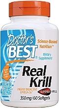 Parfumuri și produse cosmetice Real Krill, 350 mg capsule - Doctor's Best