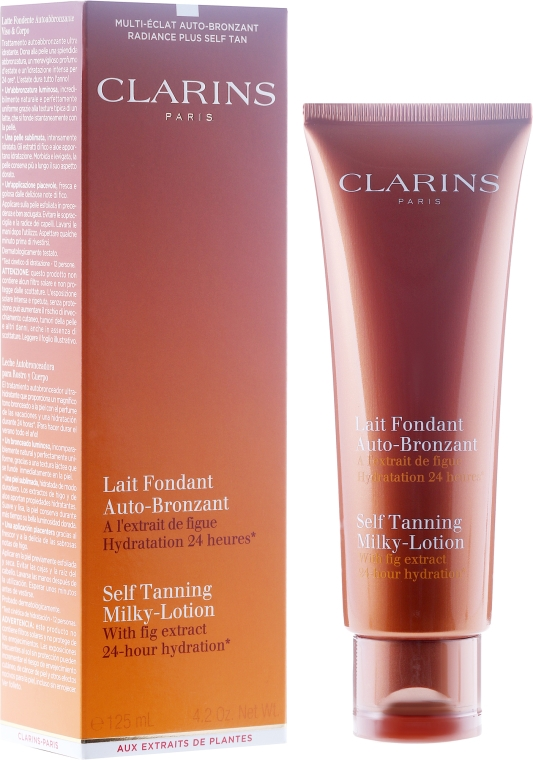 Lăptișor - Clarins Self Tanning Milk SPF 6 — Imagine N1