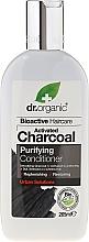 Parfumuri și produse cosmetice Balsam de păr - Dr. Organic Bioactive Haircare Activated Charcoal Conditioner