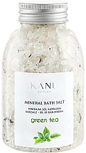 """Parfumuri și produse cosmetice Sare minerală de baie """"Ceai verde"""" - Kanu Nature Mineral Green Tea Bath Salt"""