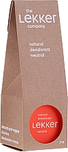 Parfumuri și produse cosmetice Deodorant natural, fără miros - The Lekker Company Natural Deodorant Neutral