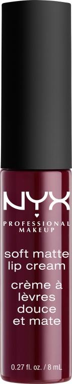 Ruj lichid de buze - NYX Professional Makeup Soft Matte Lip Cream