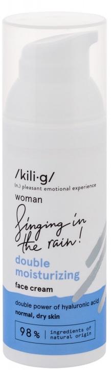 Cremă de față - Kili·g Woman Double Moisturizing — Imagine N1