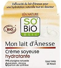 Parfumuri și produse cosmetice Cremă de față - So'Bio Etic Mon Lait d'Anesse Silky Moisturizing Cream