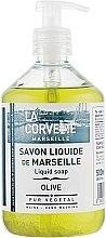 """Parfumuri și produse cosmetice Săpun lichid """"Olive"""" - La Corvette Liquid Soap"""