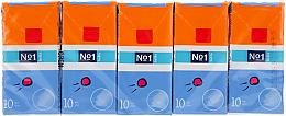Parfumuri și produse cosmetice Set șervețele uscate, 10x10 bucăți - Bella