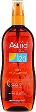 Parfumuri și produse cosmetice Ulei-Spray pentru bronzare SPF20 - Astrid Sun Suncare Spray Oil SPF20