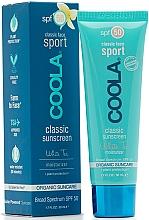 Parfumuri și produse cosmetice Cremă de protecție pentru față - Coola Classic Sport Face Spf 50 White Tea