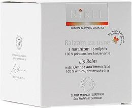 Parfumuri și produse cosmetice Balsam de buze cu flori de portocal - Nikel Lip Balm