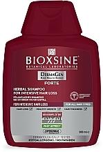 Parfumuri și produse cosmetice Șampon pe bază de plante împotriva căderii intense a părului - Biota Bioxsine DermaGen Forte Herbal Shampoo For Intensive Hair Loss