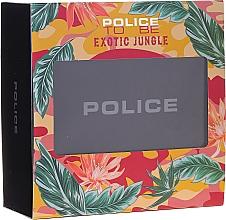 Parfumuri și produse cosmetice Police To Be Exotic Jungle - Set (edp/75ml + b/lot/100ml)