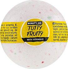 Parfumuri și produse cosmetice Bilă efervescentă pentru baie cu vitamina E - Beauty Jar Tutty Fruity