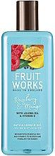 """Parfumuri și produse cosmetice Gel de duș """"Zmeură și mango"""" - Grace Cole Fruit Works Raspberry & Mango"""