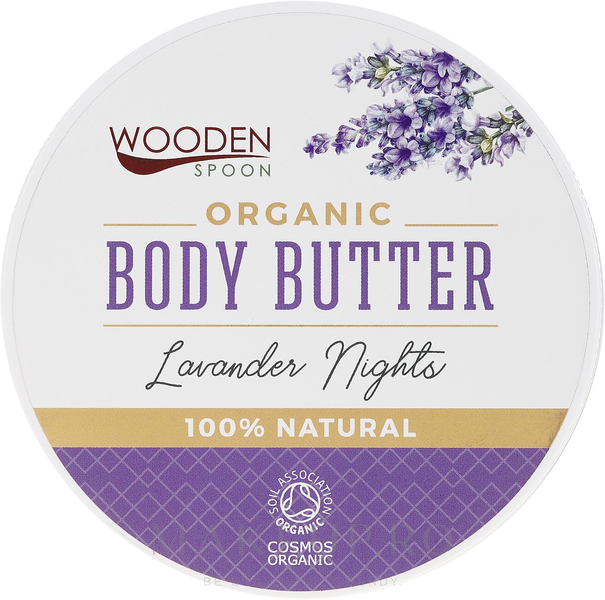 Cremă Unt de corp - Wooden Spoon Lavander Nights Body Butter — Imagine 100 ml