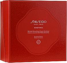 Parfumuri și produse cosmetice Set - Shiseido Benefiance Wrinkle Smoothing Cream Enriched Holiday Kit (f/cr/50ml + foam/15ml + treat/30ml + conc/10ml + eye/cr/2ml)