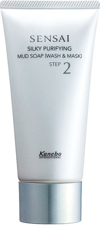 Săpun pe bază de nămol (curățare și mască) - Kanebo Sensai Mud Soap — Imagine N1