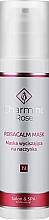 Parfumuri și produse cosmetice Mască calmantă pentru piele cu capilare dilatate - Charmine Rose Rosacalm Mask