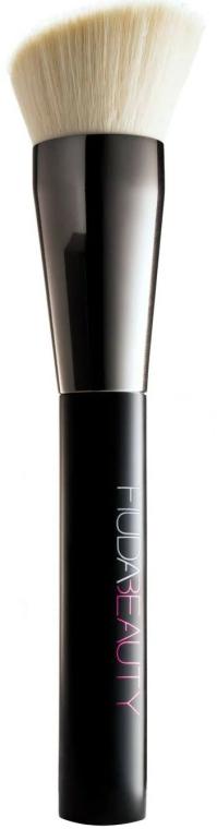 Pensulă de machiaj - Huda Beauty Face Buff & Blend — Imagine N1