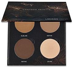 Parfumuri și produse cosmetice Paletă pentru contouring - London Copyright Magnetic Face Powder Contour Palette