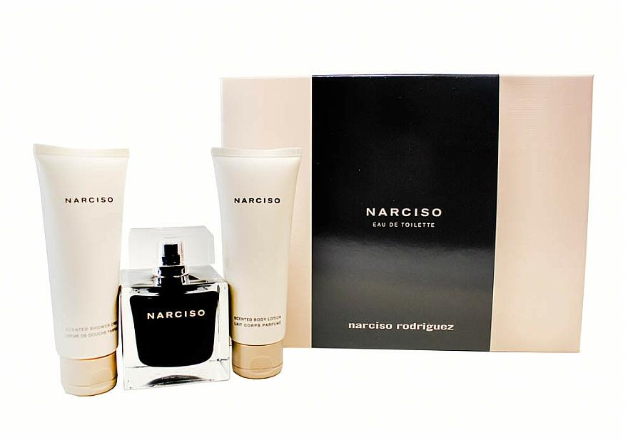 Narciso Rodriguez Narciso - Set (edt/90ml + sh/cr/75ml + b/lot/75ml) — Imagine N1