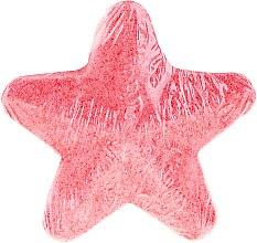 Parfumuri și produse cosmetice Steluță efervescentă, piersic - IDC Institute Bath Fizzer Star