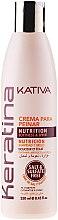 Parfumuri și produse cosmetice Cremă de păr de stilizare cu Keratină - Kativa Keratina Styling Cream
