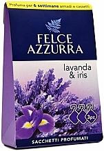 """Parfumuri și produse cosmetice Pliculeț aromatic """"Lavandă și Iris"""" - Felce Azzurra Sachets Lavender and Iris"""