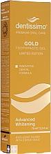 Parfumuri și produse cosmetice Pastă-gel pentru albirea dinților - Dentissimo Advanced Whitening Gold Toothpaste