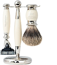 Parfumuri și produse cosmetice Set - Taylor of Old Bond Street Mach3 (razor/1szt + sh/brush/1szt + stand/1szt)