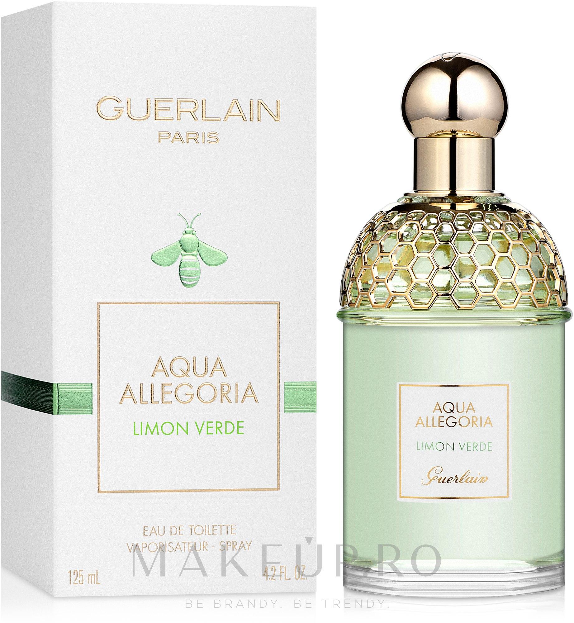 Guerlain Aqua Allegoria Limon Verde - Apă de toaletă — Imagine 125 ml