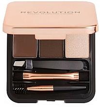 Parfumuri și produse cosmetice Set pentru sprâncene - Makeup Revolution Brow Sculpt Kit