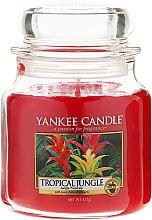 Parfumuri și produse cosmetice Lumânare parfumată în borcan - Yankee Candle Tropical Jungle