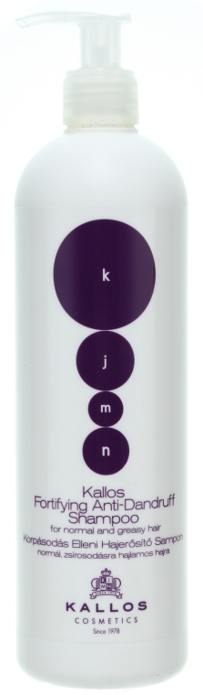 Șampon împotriva mătreții - Kallos Cosmetics Fortifying Anti-dandruff Shampoo