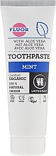 """Parfumuri și produse cosmetice Pastă de dinți """"Mentă"""" - Urtekram Mint Toothpaste"""