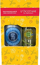 Parfumuri și produse cosmetice Set - L'Occitane Shea Shower Duo (sh/foam/200ml+bath/foam/500ml)