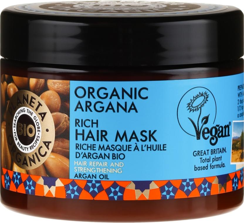 Mască de păr - Planeta Organica Organic Argana Rich Hair Mask
