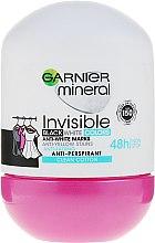 Parfumuri și produse cosmetice Deodorant roll-on - Garnier Invisible Black White Colors