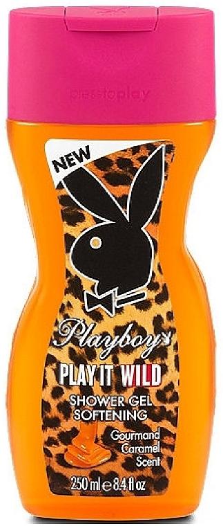 Playboy Play It Wild - Gel de duș  — Imagine N1