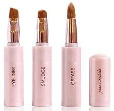 Parfumuri și produse cosmetice Pensulă 3in1 pentru machiaj - Jane Iredale Brush Snappy Wand 3 in 1 Limited Edition